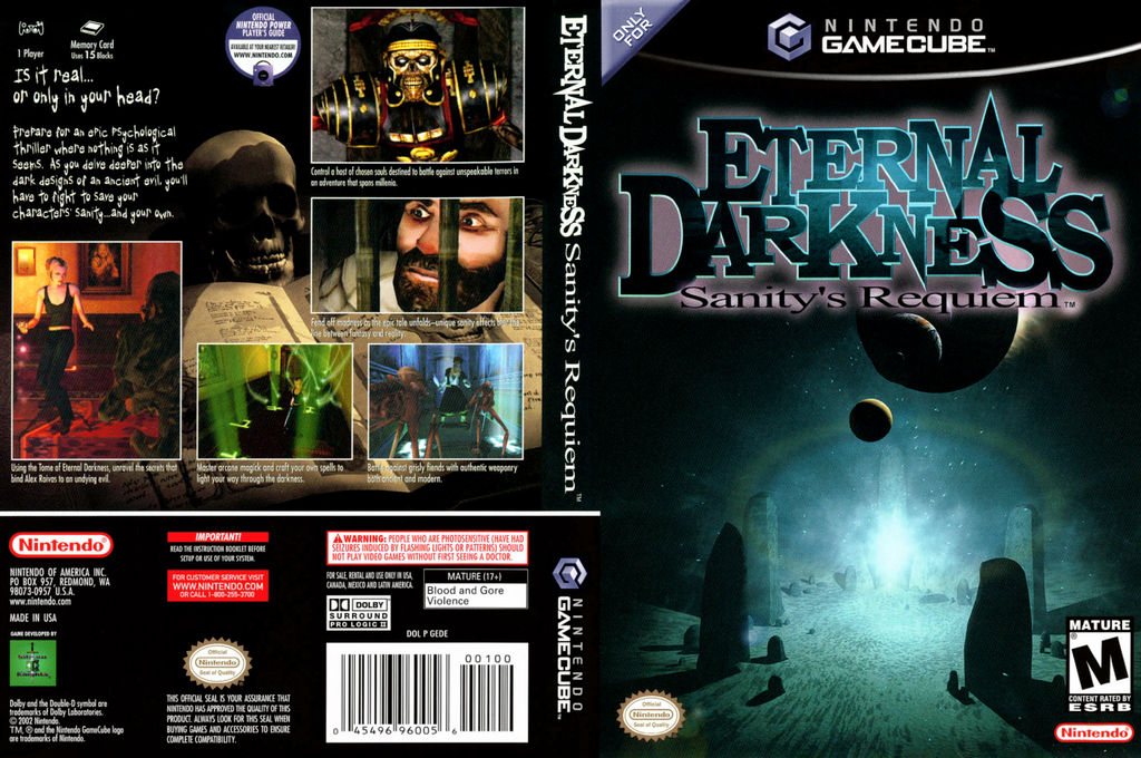 Eternal Darkness: Sanity's Requiem Wii coverfullHQ (GEDE01)