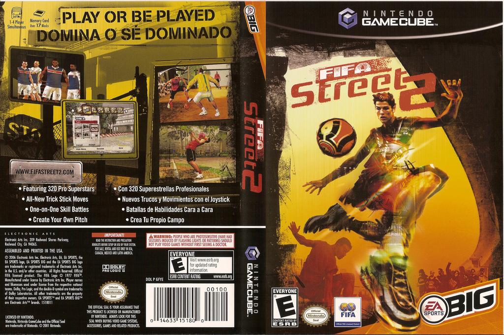 FIFA Street 2 Wii coverfullHQ (GFYE69)