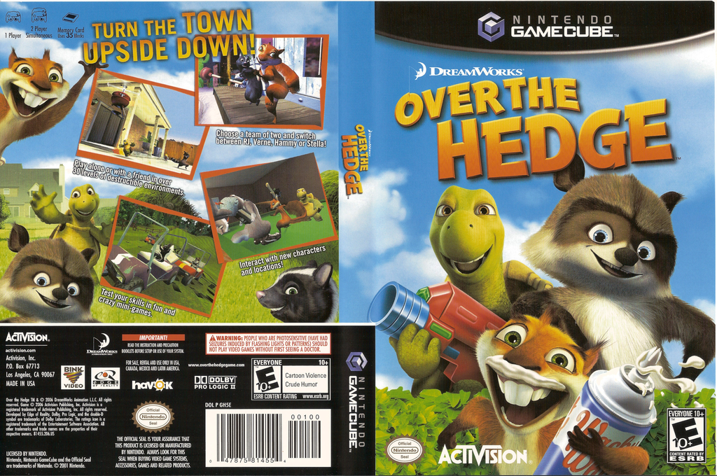 GH5E52 - Over The Hedge