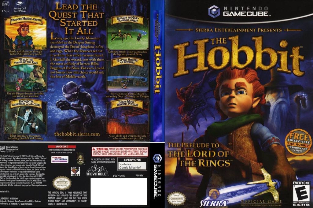 The Hobbit Wii coverfullHQ (GHBE7D)