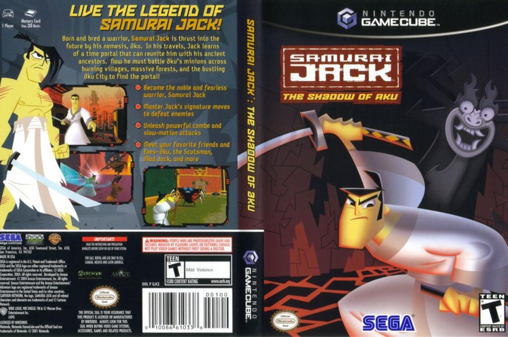 Samurai Jack: The Shadow of Aku Wii coverfullHQ (GJCE8P)