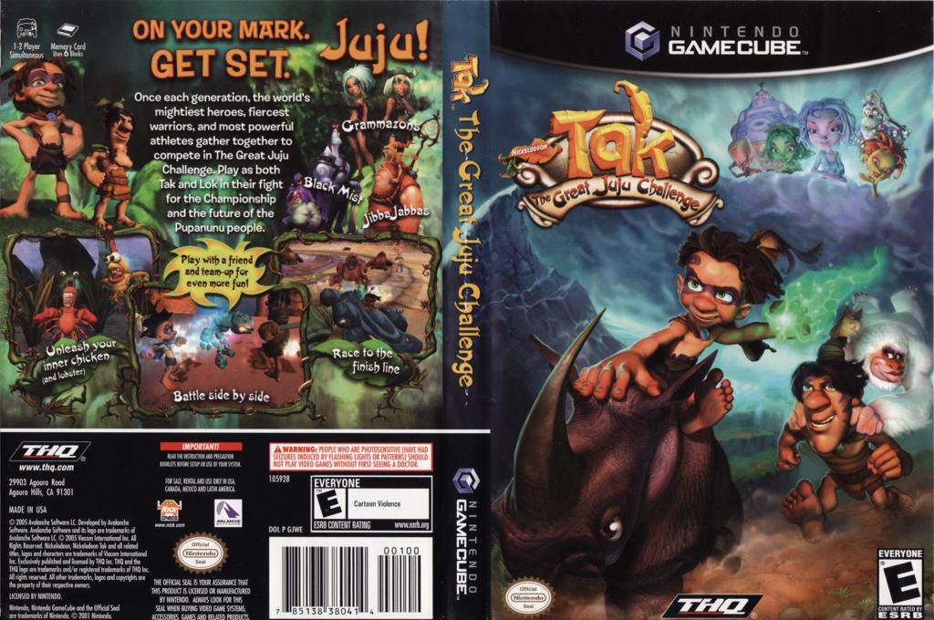 Tak: The Great JuJu Challenge Wii coverfullHQ (GJWE78)