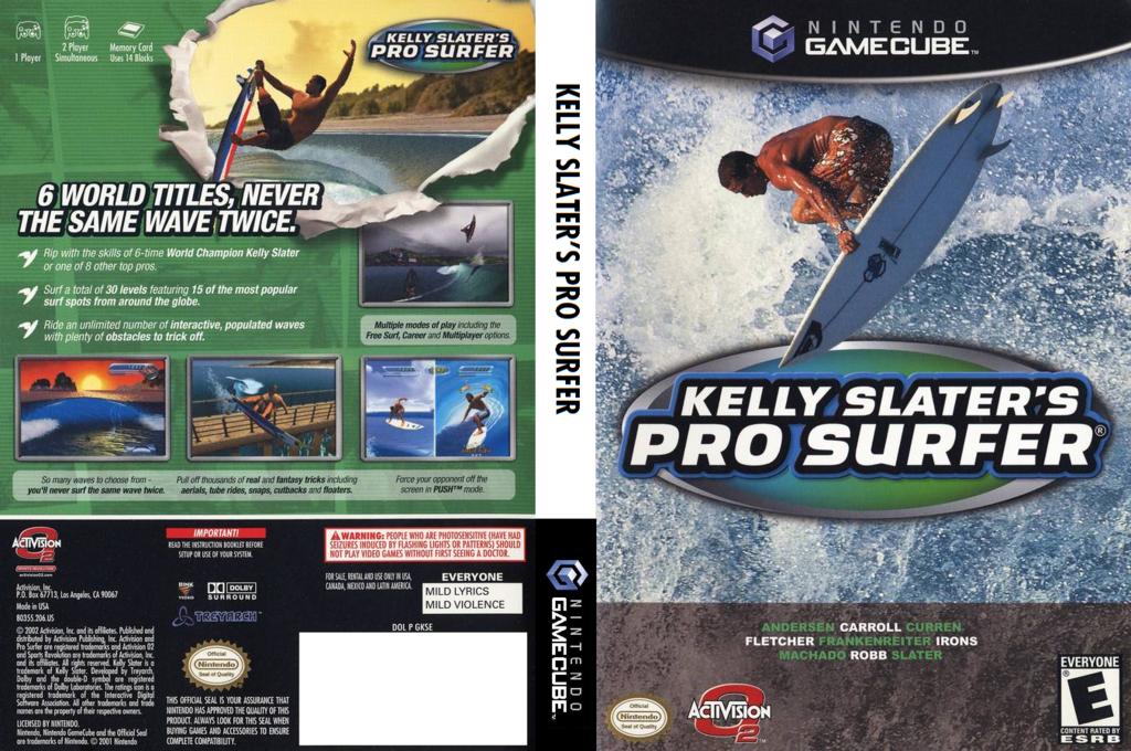 Kelly Slater's Pro Surfer Wii coverfullHQ (GKSE52)