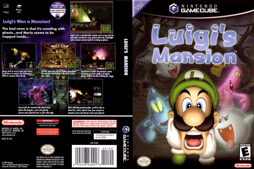 luigis mansion gamecube iso
