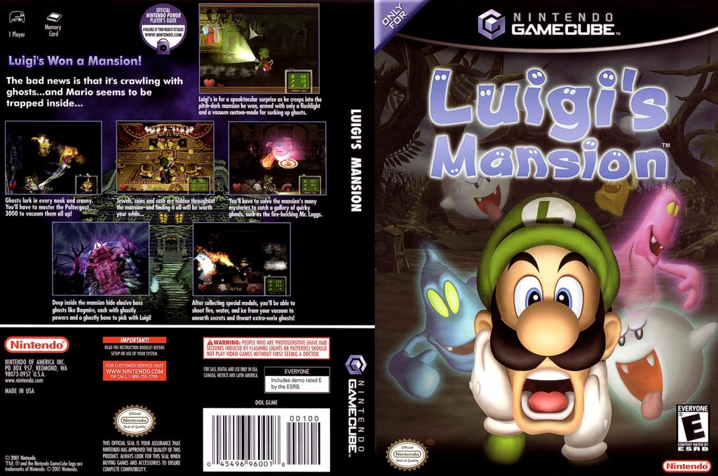 Luigi's Mansion Wii coverfullHQ (GLME01)