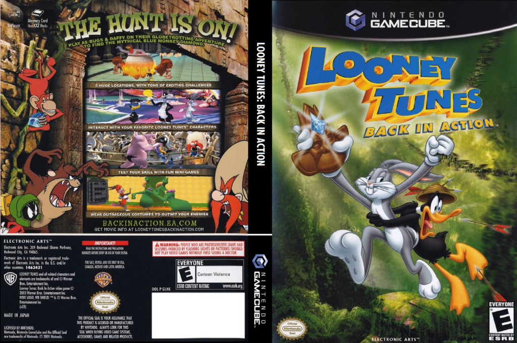 Looney Tunes:Back in Action Wii coverfullHQ (GLNE69)