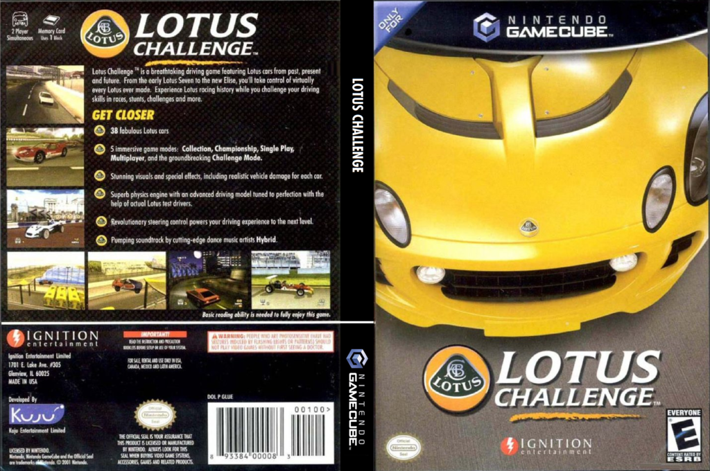Lotus Challenge Wii coverfullHQ (GLUE7U)