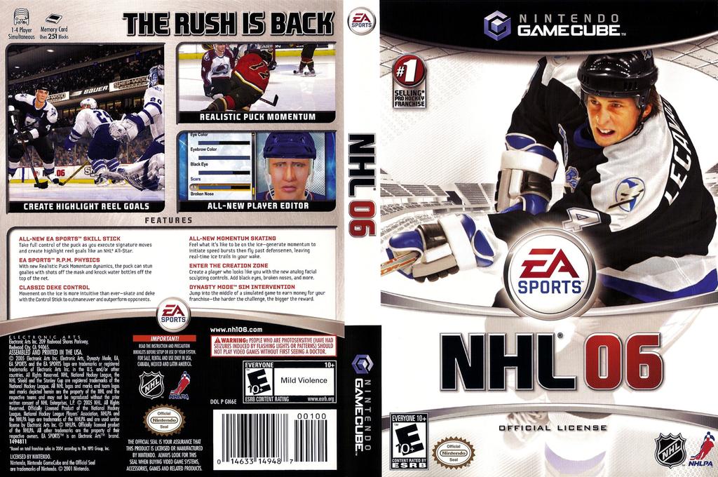 NHL 06 Wii coverfullHQ (GN6E69)