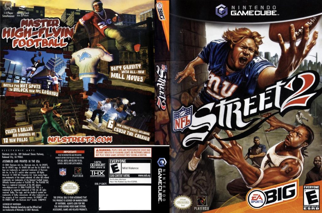 NFL Street 2 Wii coverfullHQ (GN7E69)