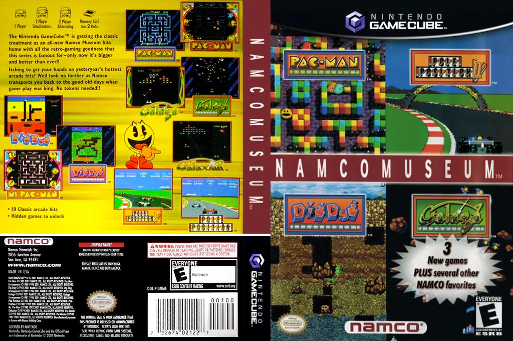 Namco Museum Wii coverfullHQ (GNMEAF)