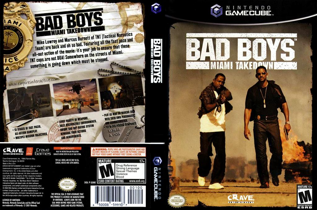 Bad Boys: Miami Takedown Wii coverfullHQ (GOBE4Z)