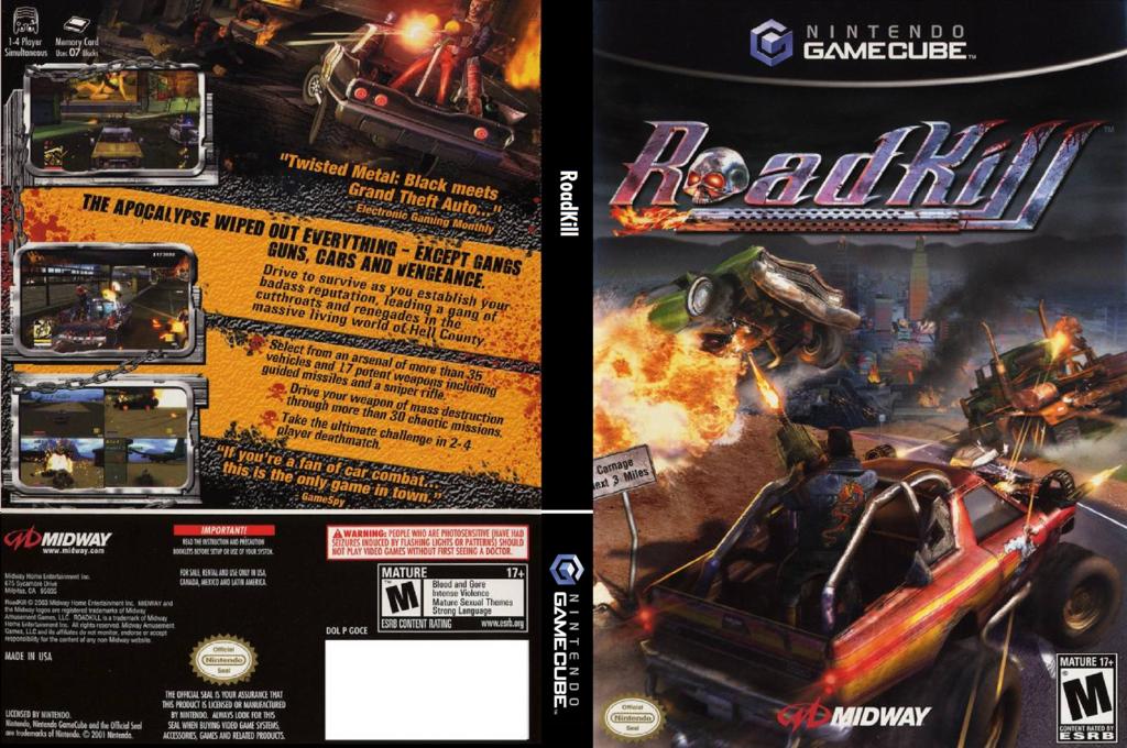 RoadKill Wii coverfullHQ (GOCE5D)