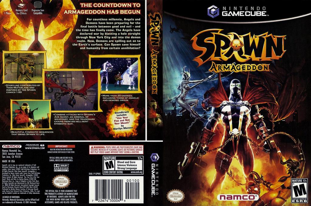 Spawn: Armageddon Wii coverfullHQ (GPWEAF)