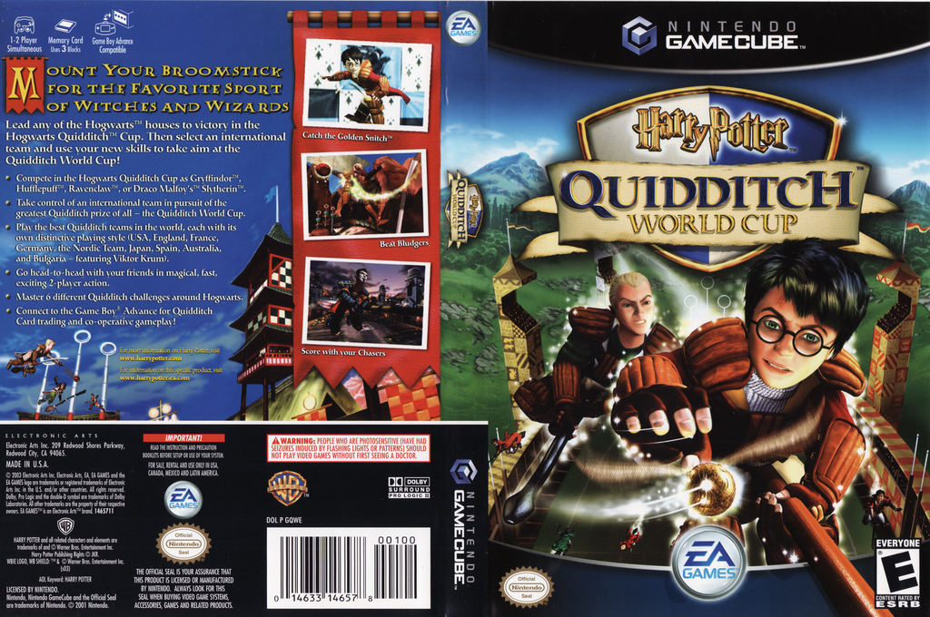Harry Potter: Quidditch World Cup Wii coverfullHQ (GQWE69)