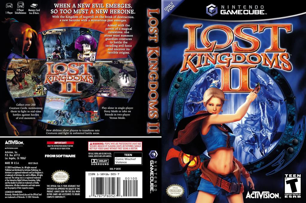 Lost Kingdoms 2 Wii coverfullHQ (GR2E52)