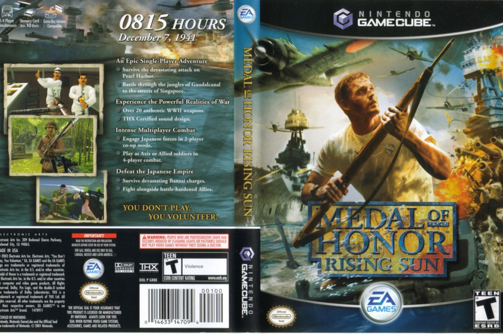 Medal of Honor: Rising Sun Wii coverfullHQ (GR8E69)