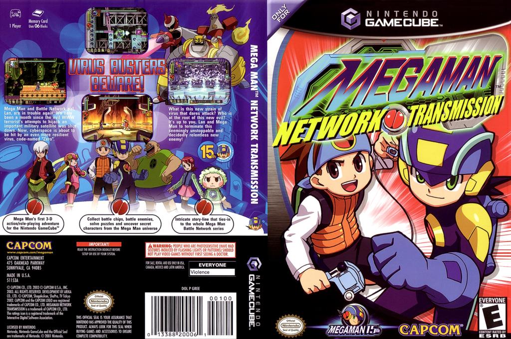 Mega Man Network Transmission Wii coverfullHQ (GREE08)