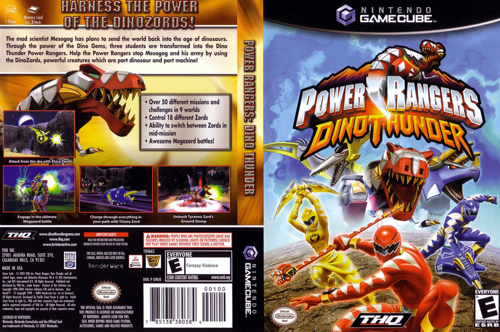 Power Rangers Dino Thunder Wii coverfullHQ (GRUE78)