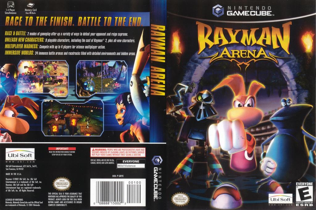 Rayman Arena Wii coverfullHQ (GRYE41)