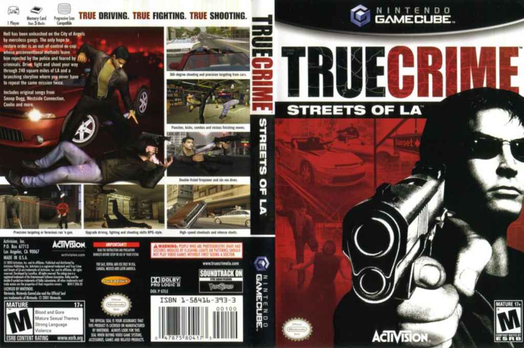 True Crime: Streets of LA Wii coverfullHQ (GTLE52)