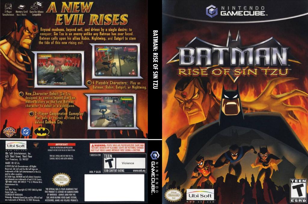 Batman: Rise of Sin Tzu Wii coverfullHQ (GUZE41)