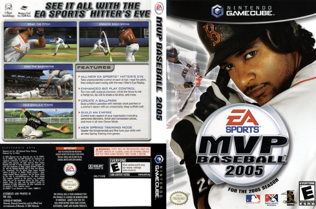 MVP Baseball 2005 Wii coverfullHQ (GV4E69)