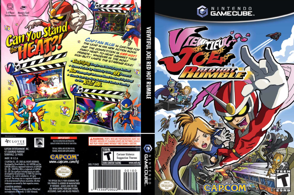 Viewtiful Joe: Red Hot Rumble Wii coverfullHQ (GVCE08)