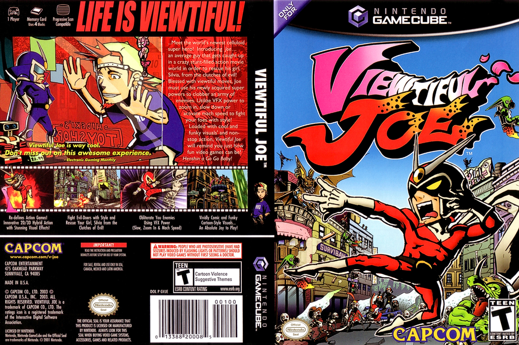 Viewtiful Joe Wii coverfullHQ (GVJE08)