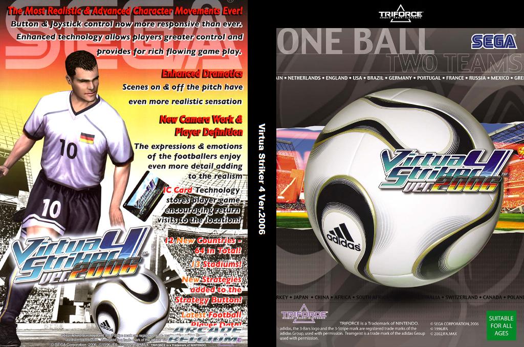 Virtua Striker 4 Ver.2006 Wii coverfullHQ (GVS46E)