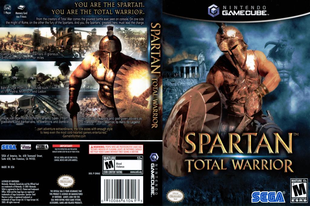 Spartan Total Warrior Wii coverfullHQ (GWAE8P)