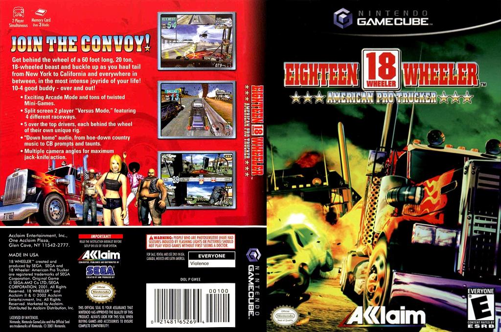 18 Wheeler: American Pro Trucker Wii coverfullHQ (GWEE51)