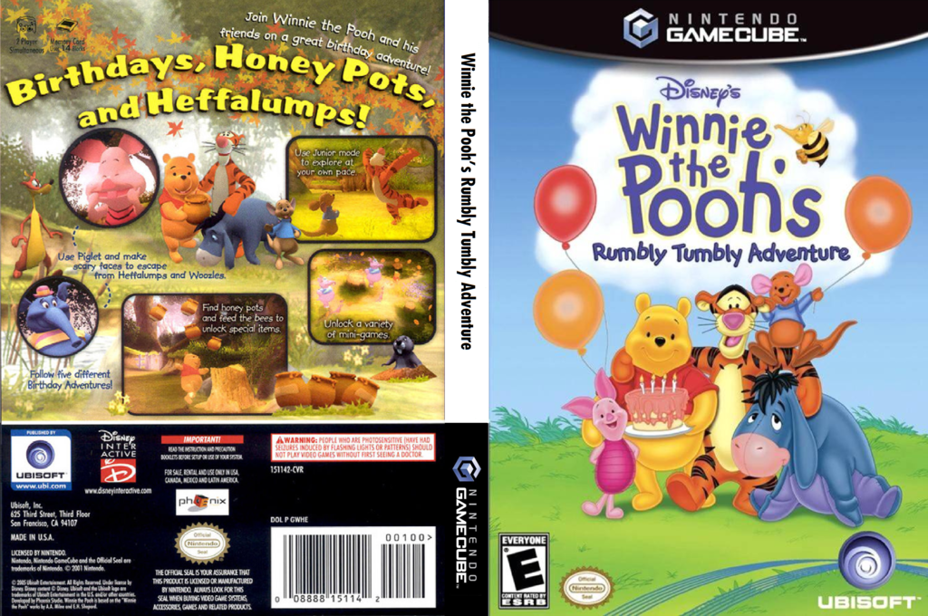 Winnie The Pooh Rumbly Tumbly Adventures Wii coverfullHQ (GWHE41)