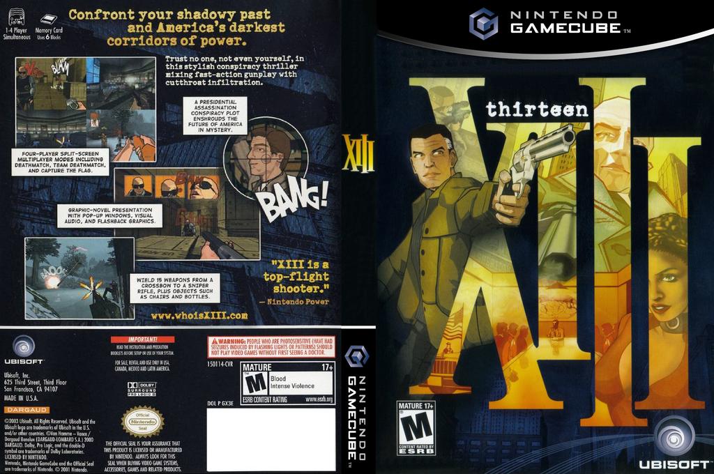 XIII Wii coverfullHQ (GX3E41)