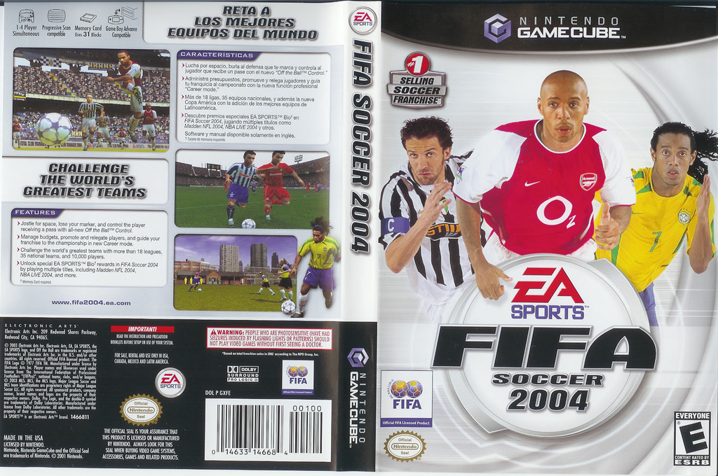 FIFA Soccer 2004 Wii coverfullHQ (GXFE69)