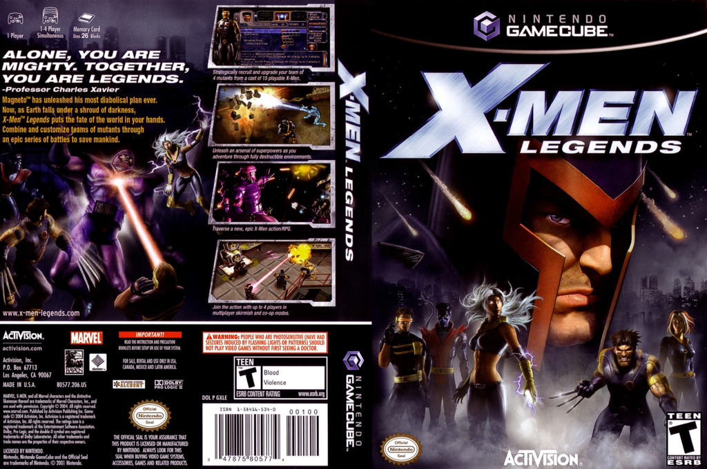 X-Men Legends Wii coverfullHQ (GXLE52)