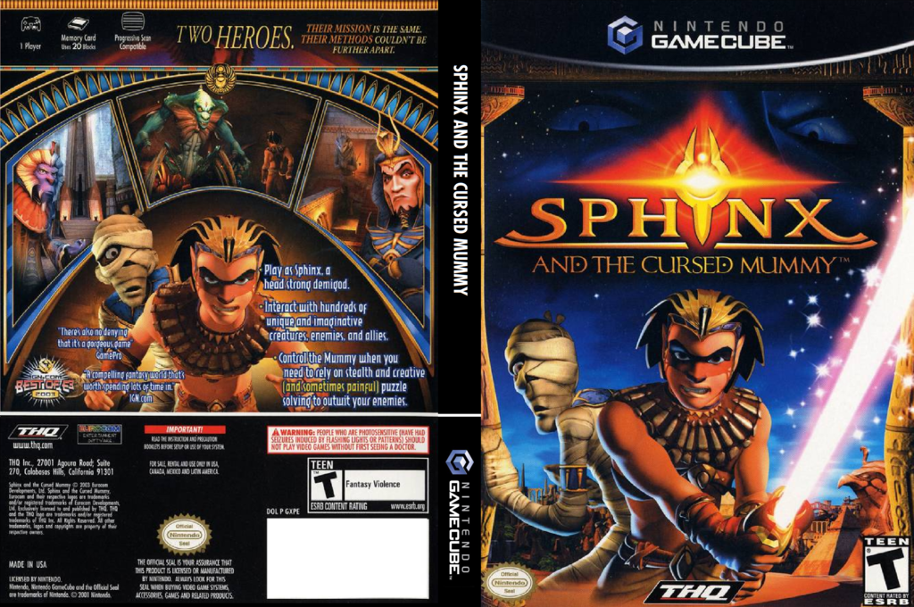 Sphinx and the Cursed Mummy Wii coverfullHQ (GXPE78)