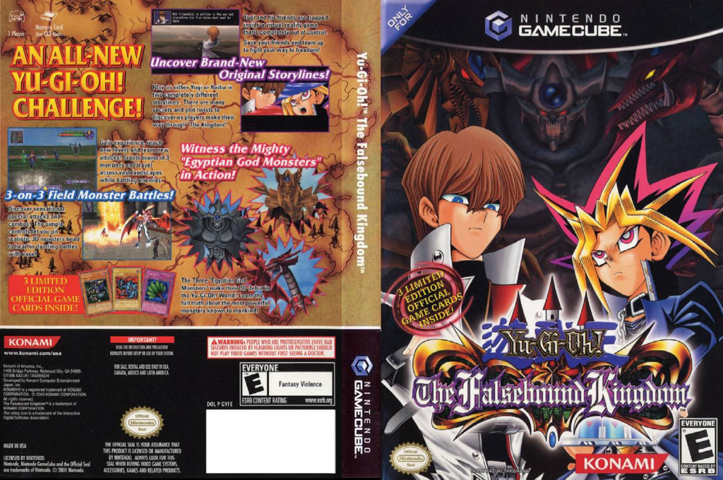 Yu-Gi-Oh! The Falsebound Kingdom Wii coverfullHQ (GYFEA4)