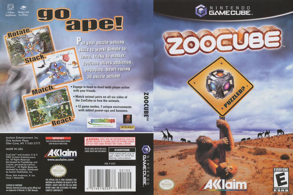 ZooCube Wii coverfullHQ (GZCE51)