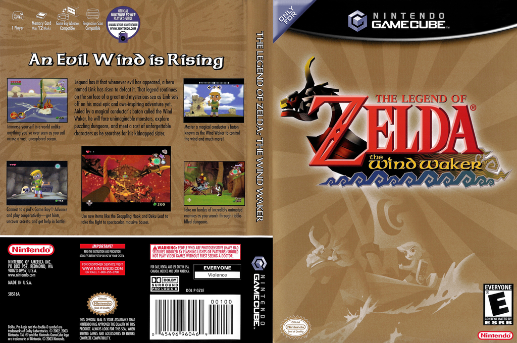 The Legend of Zelda: The Wind Waker Wii coverfullHQ (GZLE01)