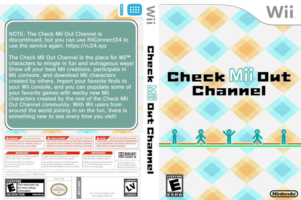 Check Mii Out Channel Wii coverfullHQ (HAPE)
