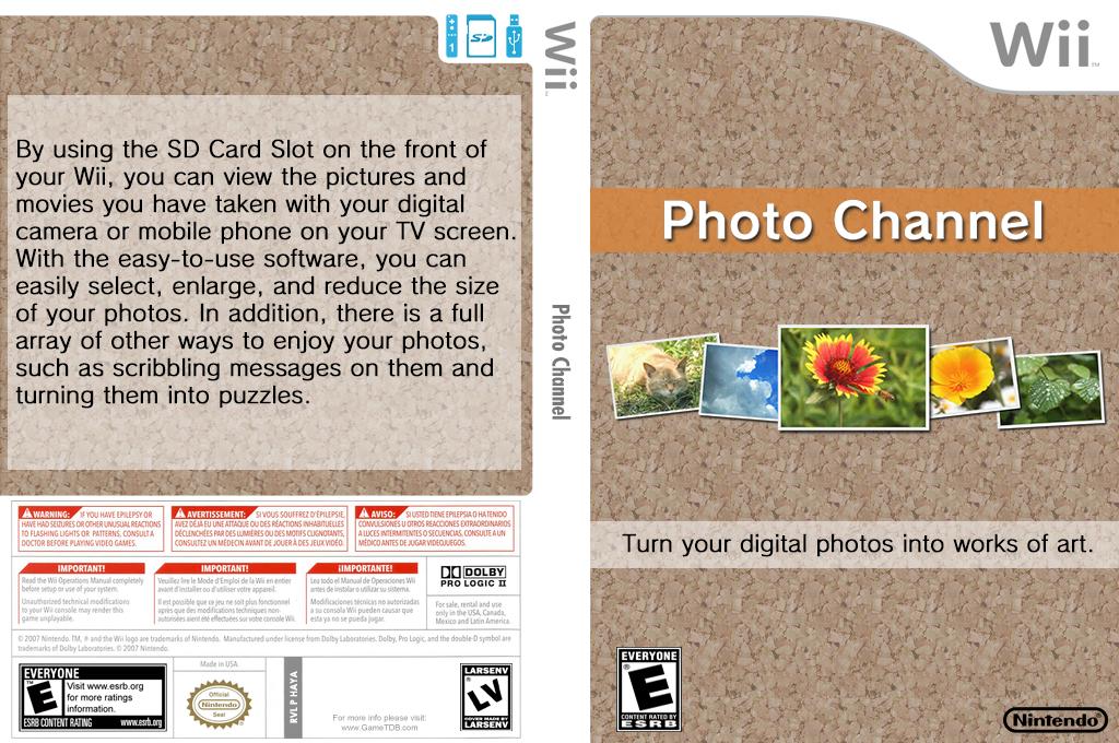 Photo Channel Wii coverfullHQ (HAYA)