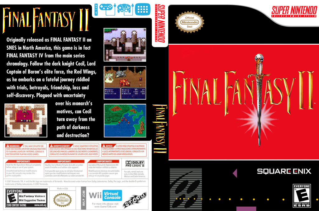 Final Fantasy II Wii coverfullHQ (JC8E)