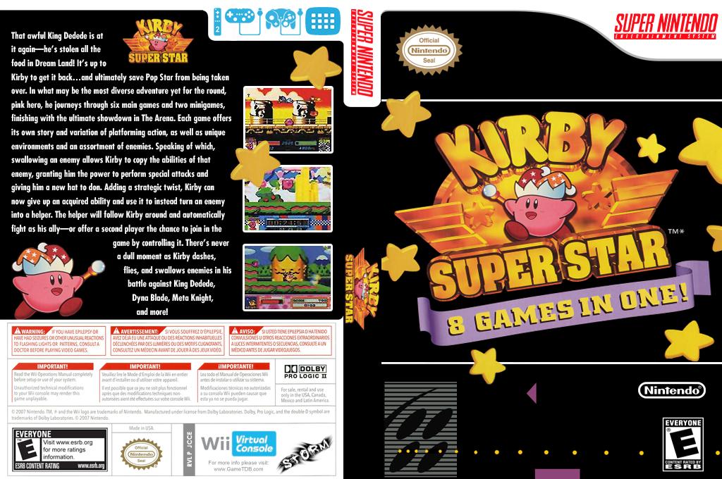 Kirby Super Star Wii coverfullHQ (JCCE)