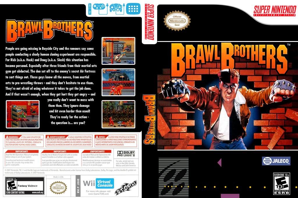 Brawl Brothers Wii coverfullHQ (JD5E)