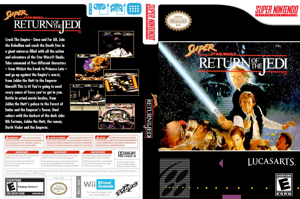 Super Star Wars: Return of the Jedi Wii coverfullHQ (JDLE)
