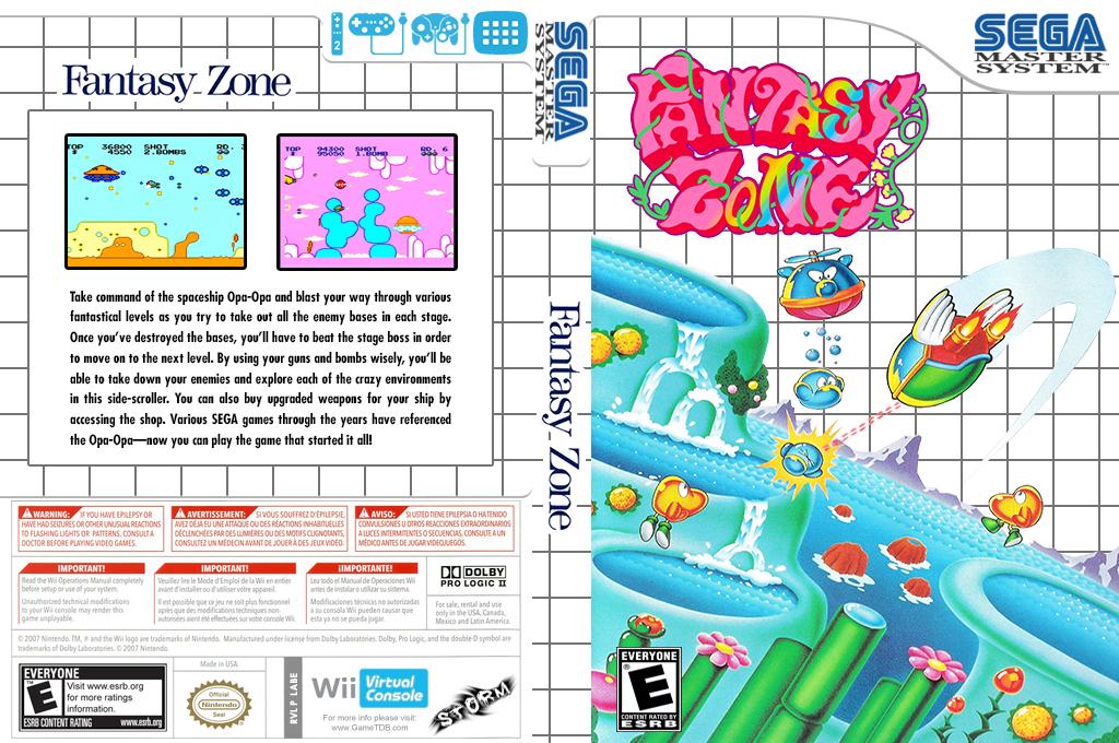 Fantasy Zone Wii coverfullHQ (LABE)