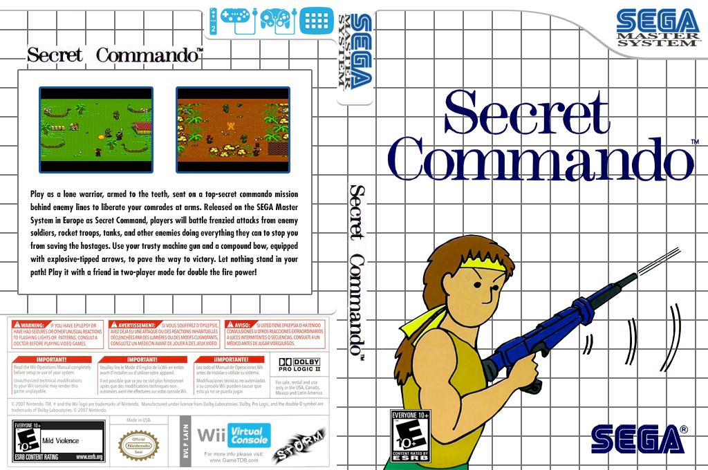 Secret Commando Wii coverfullHQ (LAFN)