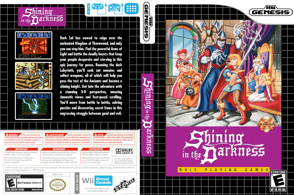 Shining in the Darkness Wii coverfullHQ (MA7E)