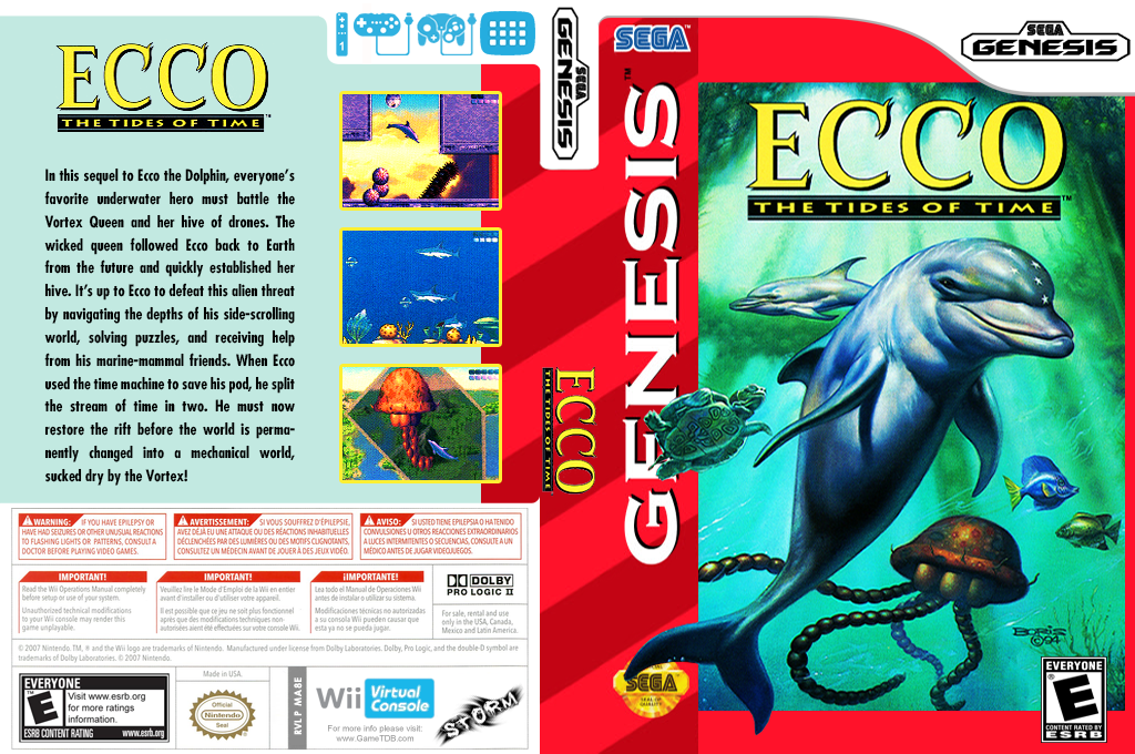 Ecco: The Tides of Time Wii coverfullHQ (MA8E)