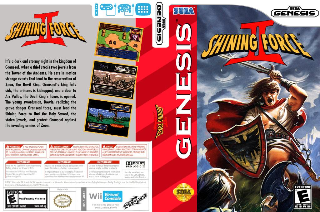 Shining Force II Wii coverfullHQ (MB6E)